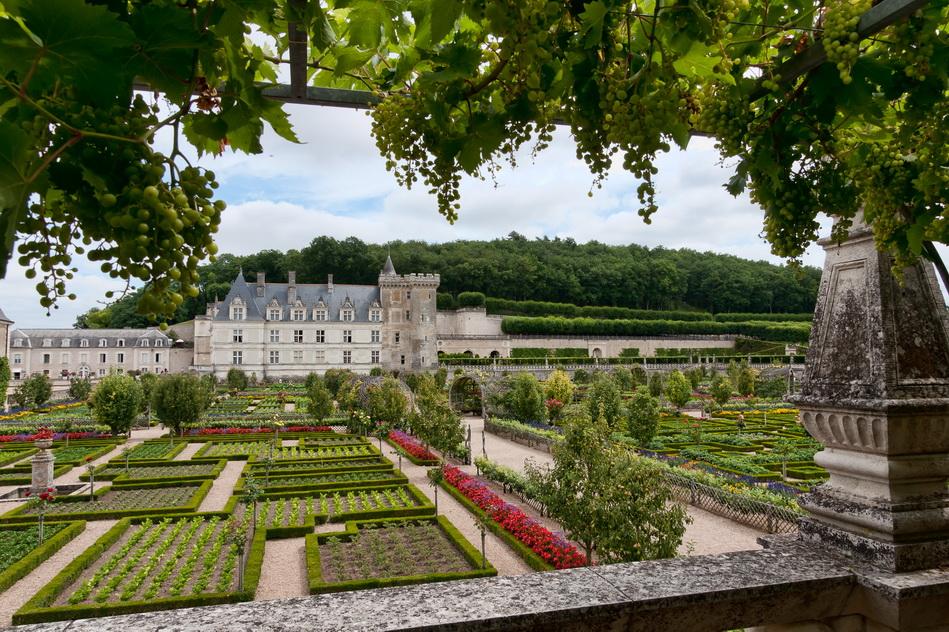 Замок Вилландри