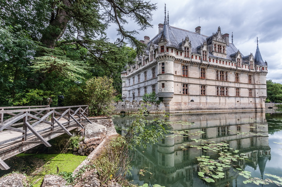 Замок Азе ле Ридо