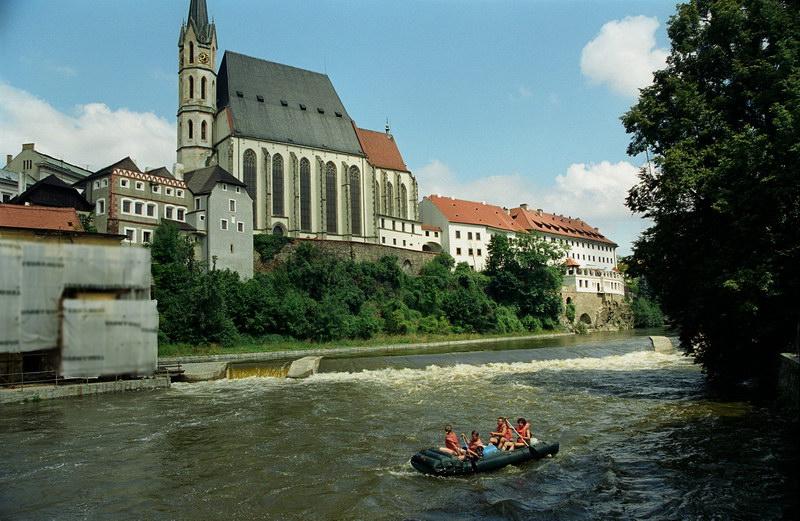 Сплав по реке Влтаве