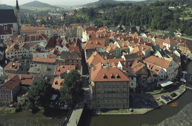 Вид на Старый Город с Замковой башни