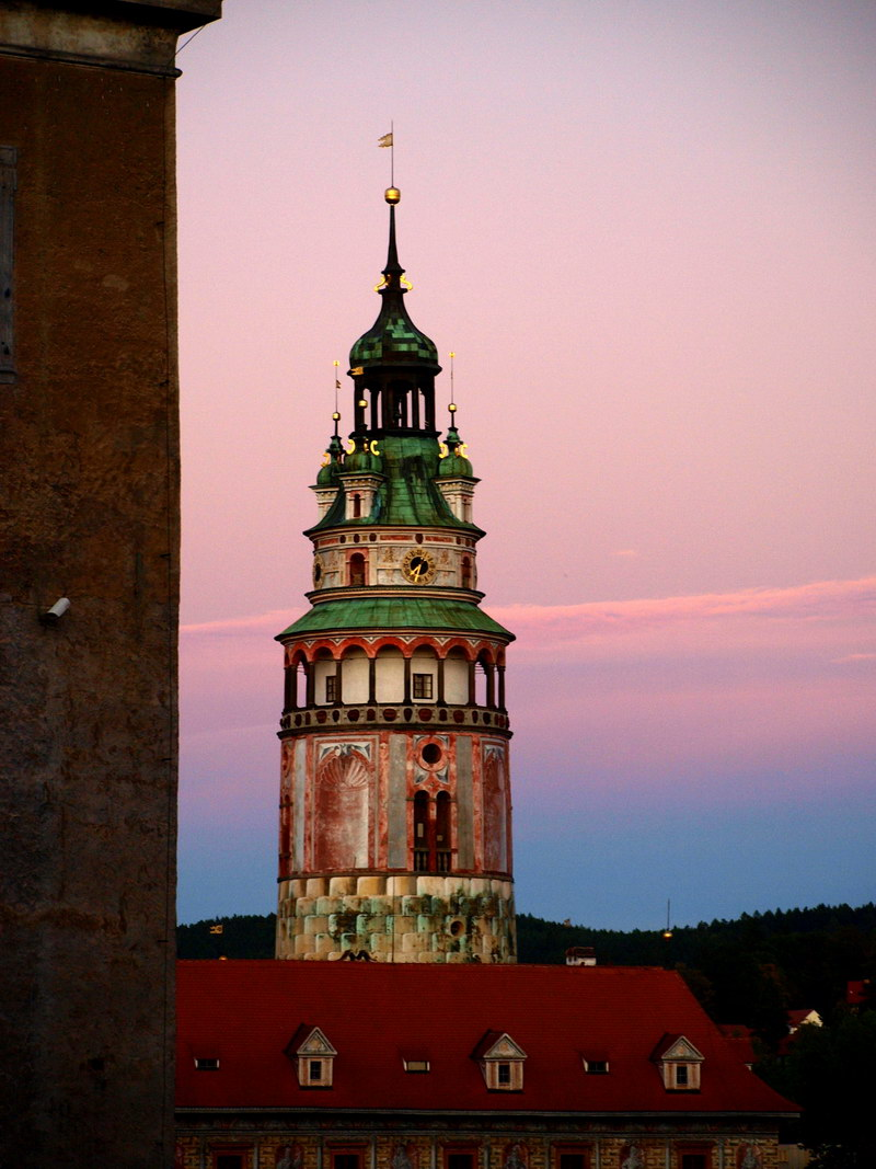 Замковая башня в Крумлове