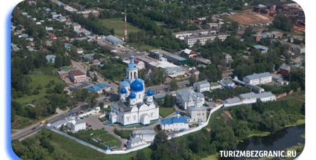 Средневековый замок и Свято-Боголюбский монастырь