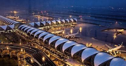 Аэропорт в Бангкоке Суварнабхуми